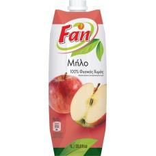 Fan Mήλο Φυσικός Χυμός - Apple natural juice 1lt