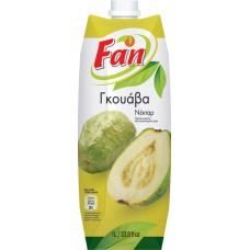 Fan Γκουάβα νέκταρ - Guava Nectar 1lt