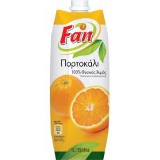 Fan Πορτοκάλι Φυσικός Χυμός - Orange natural juice 1lt