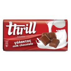 Thrill Σοκολάτα γάλακτος - Milk Chocolate 100g